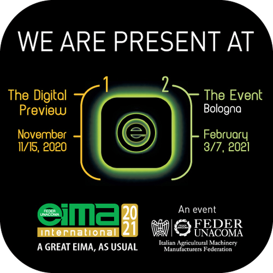 CARON - EIMA 2020/2021 -  'Digital Preview' e 'The Event'