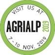 CARON - AGRIALP 2019, Bozen (IT), du 7 au 10 Novembre 2019