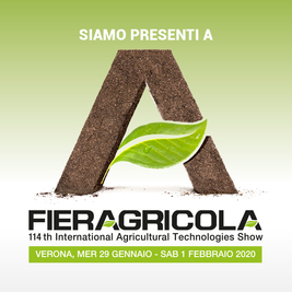 CARON - FIERAGRICOLA 2020 - VERONA, from 29th January to 1st February