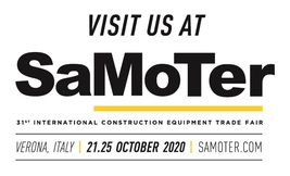 CARON - SAMOTER 2020 -  31° Salon International Machines de Chantier